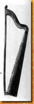 'Kaiser' Harp. Conservatoire de Musique, Brussels, 1504 - European and American Musical Instruments, Anthony Baines, 1966